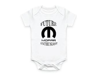 c607cdd37 Cute Baby Future MOPAR Enthusiast Body Suit/Romper for your little Mopar  Fan!