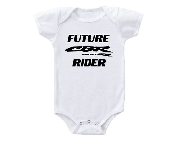 Baby Shower Gift Funny Baby One Piece Romper Future Yamaha Rider Cotton