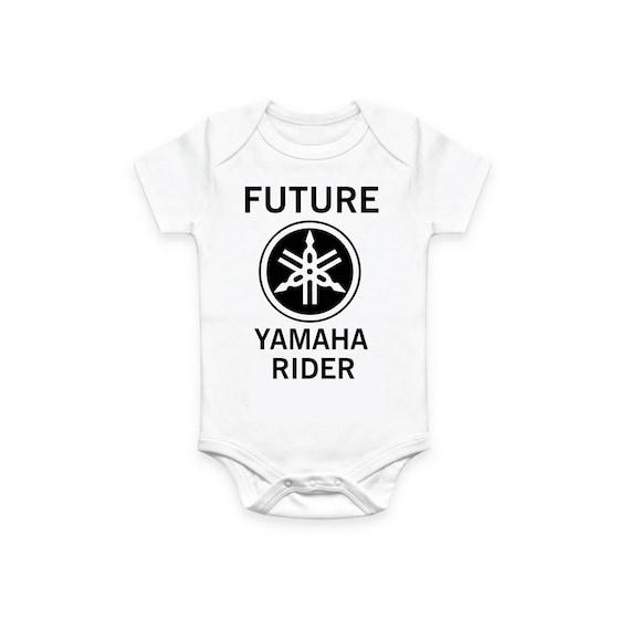 Tshirt Shirt Baby Print MotoGP Yamaha r1 Custom Name Number Cotton T-shirt e maglie T-shirt, maglie e camicie