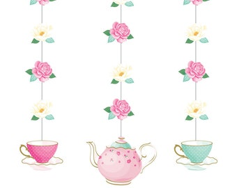 Tea Party Decor Etsy