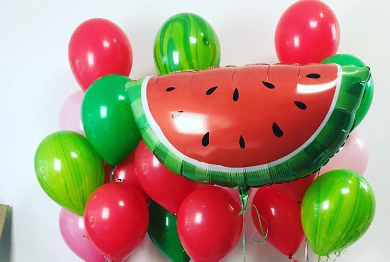 Watermelon Summer Party Balloons