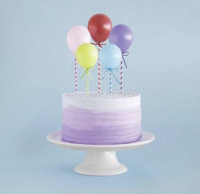 Mini Balloons Cake Topper Kit Balloon