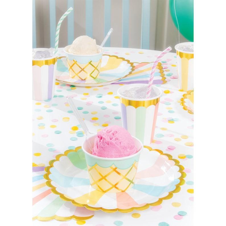 Ice Cream Truck Centerpiece- Ice Cream Birthday Ice Cream Party Supplies Ice Cream Decor Two Sweet Decor Party Decoration
