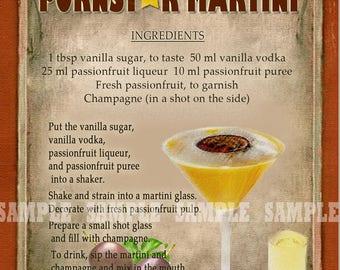 Pornstar martini | Etsy
