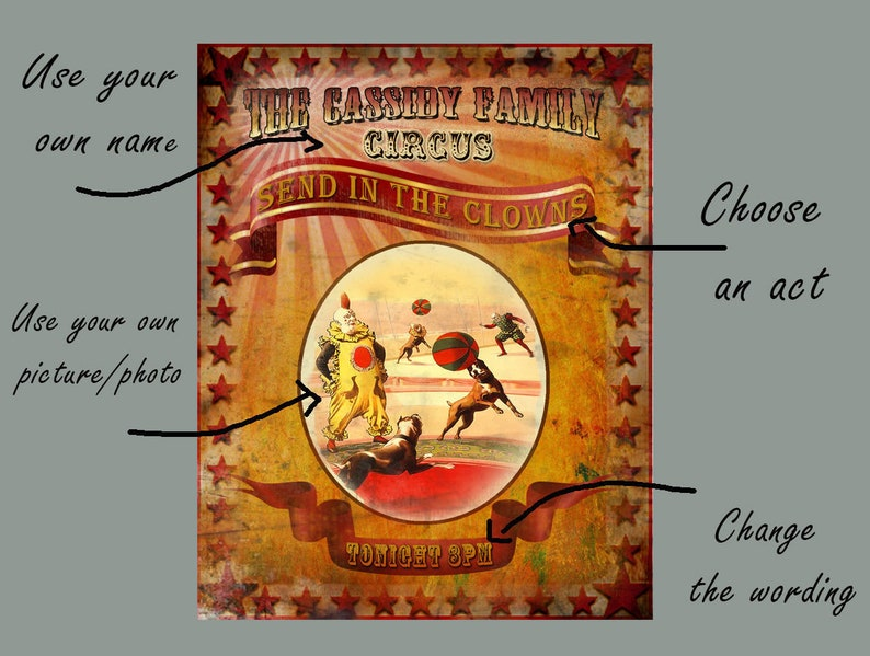 SNAKE CHARMER CIRCUS GREATEST SHOW ON EARTH  METAL SIGN CHOOSE YOUR SIZE