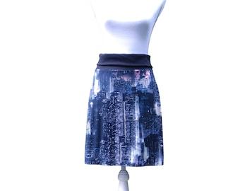 Skirt - City print