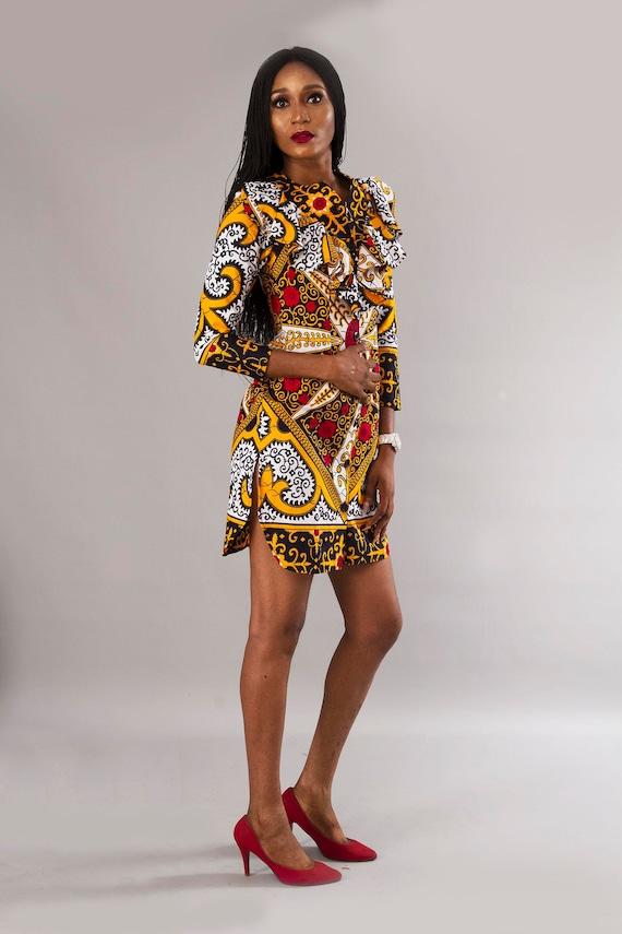 White Gold Vneck Short Shift Dress, Plus size/Wholesale Clothing/Custom  Made Order/Clothing Sales