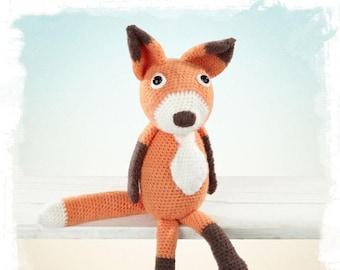 Häkelanleitung Fuchs Etsy