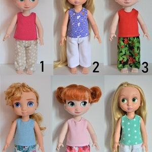 Handmade Doll Clothes Dress for Disney Animators 16 Elsa Anna Rapunzel Toddler Dolls Easter M