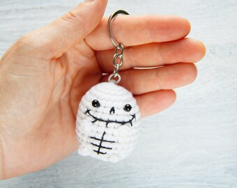 Skeleton key ring cute halloween favor