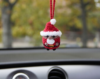African Santa car hanging rear view accessory