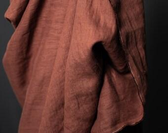 Woven Fabric - Linen - European Linen - Cinnamon Dust