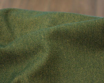 Flannel - Weaving Fabric - Cotton - Shetland Kale