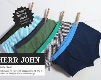 Sewing pattern - Men - Cut-ready - Mr. John - Underpants