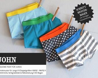 Sewing pattern - Kids - Cut-ready - John - Underpants