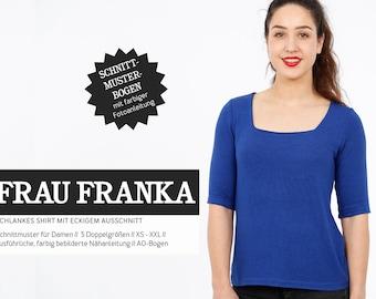 Pattern - Women - Ready for cuts - Mrs. Franka - Shirt