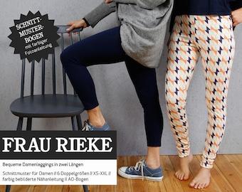Sewing Pattern - Women - Mrs Rieke - Leggings