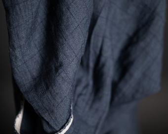 Woven fabric - Linen - Memoria Checkered