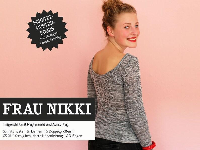 Sewing Pattern  Women  Cut Tire  Mrs Nikki  Shirt image 0
