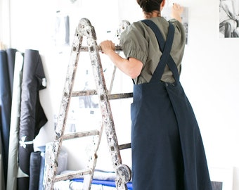Sewing Pattern - Women - The Assembly Line - Apron Dress XS-L or XL-3XL