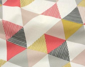 Fabric cotton-Interiorstoff-brio Coral