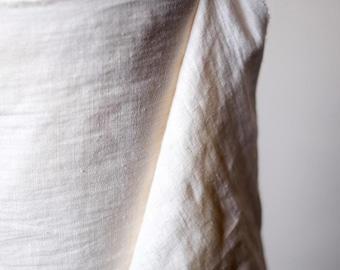 Weaving fabric - Linen - Milk
