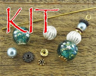 Irina Miech clear Small faceted rutilated quartz beads 15 strand brown round semiprecious stone 4mm