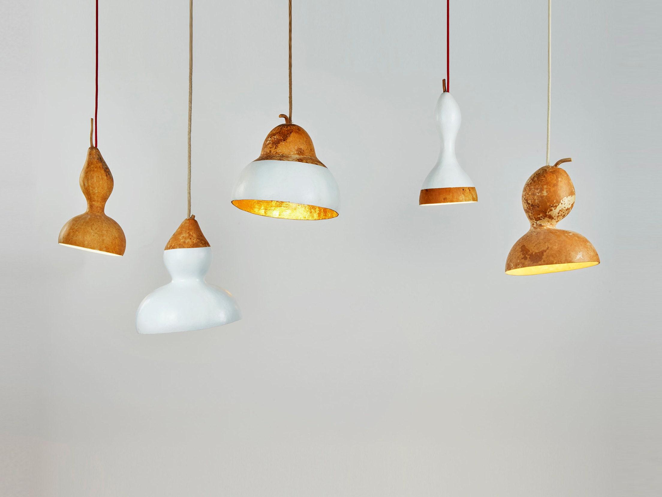 Wood pendant light hanging lamp steampunk lamp ceiling fixture modern table lamp ceiling light light fixture gourd bedside lamp