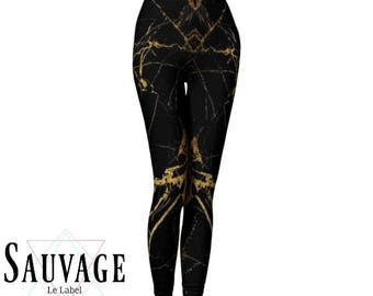 Goldie Black Leggings for the wild ones • yoga class and sunday brunch approved • handmade in Montreal - XS to XL
