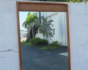 Mid Century Modern Wall Mirror by American of Martinsville 8969