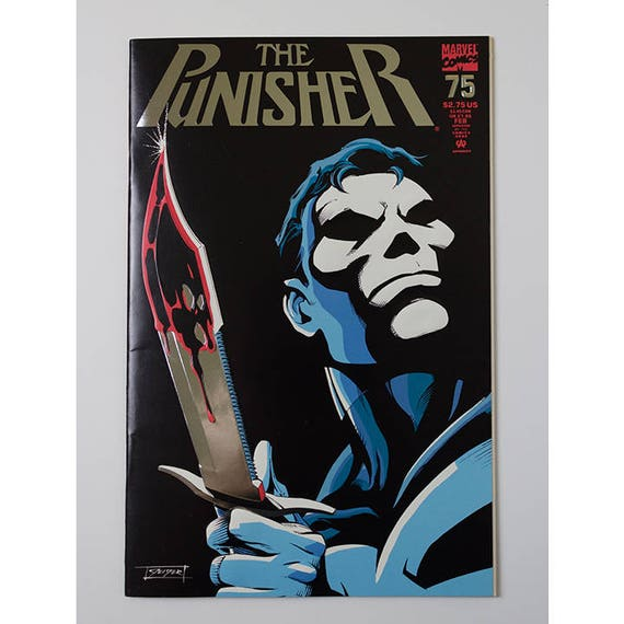 1993 MARVEL FANTASTIC ENHANCED COVER PUNISHER WAR JOURNAL  50 1st SERIES