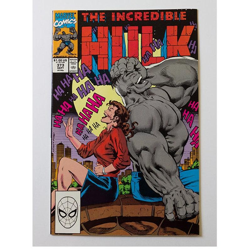 The Incredible Hulk Number 373 1990