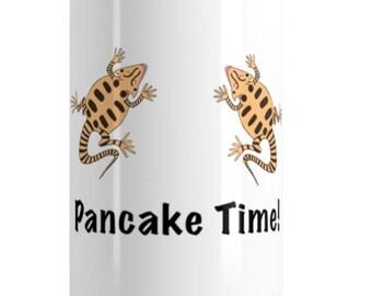 Pancake Time Stainless Steel Water Bottle