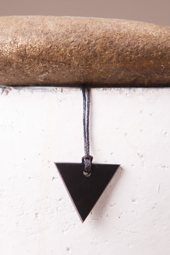 Pendants made of SHUNGITE Rhombus Russia.