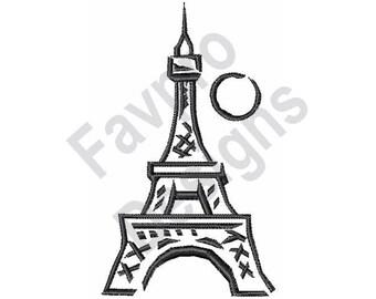 Eiffel Tower Icon Etsy
