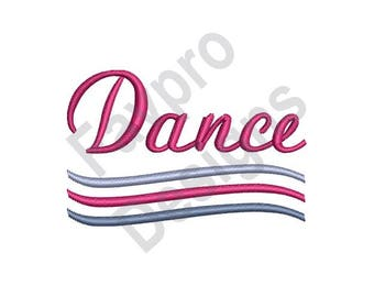 The Movemant Of Dance - Machine Embroidery Design
