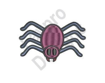 Halloween Spider - Machine Embroidery Design