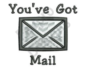 Youve Got Mail - Machine Embroidery Design