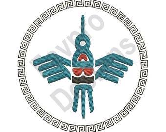 Southwest Bird - Machine Embroidery Design