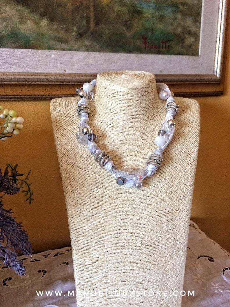 Elegant white necklace summer 2020 necklace women's image 0