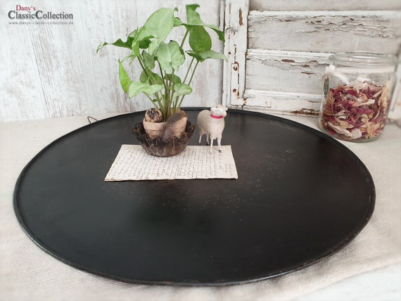 Brilliant Large Baking Tray O 48 5 Cm 19 09 Round Ottoman Tray Table Coaster Shabby Magnetic Wall Memo Board Vintage Deco Hx4562B4 Unemploymentrelief Wooden Chair Designs For Living Room Unemploymentrelieforg