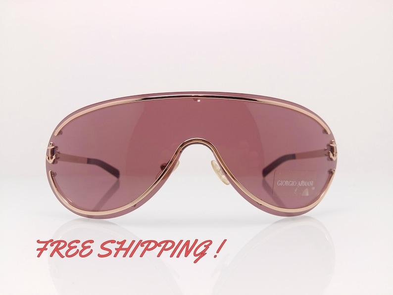 6e76a9b1c8b9 Giorgio Armani Sunglasses Vintage Mask Captain Edition   Etsy