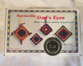 "Harrisville designs - The weaving Co. ""God's eyes"" crafting kit"