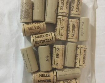 Mixed Bag of 20 used Corks for crafts