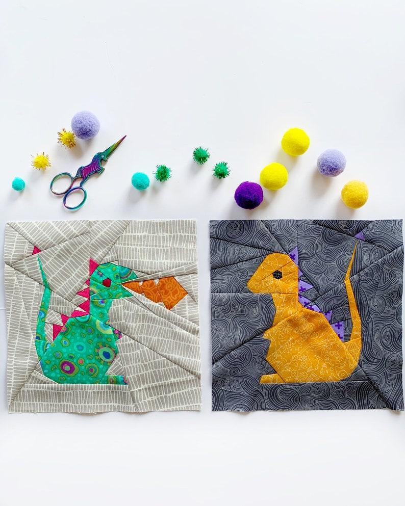 Fairytale Quilt Block Pattern Modern Quilt Pattern Fairytale Quilt Pattern PDF instant download Nursery Decor