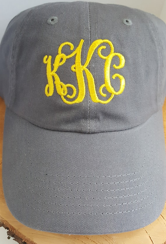 MONOGRAM BLOOPER HATS Final Sale Clearance items  b84ed2f76754