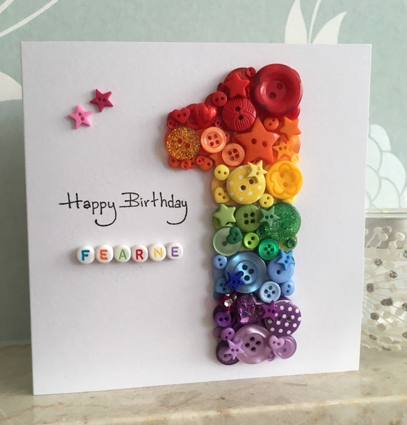 Childrens Birthday Cards Kids 1st