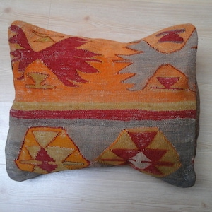 Kilim pillow cover 3x1 set decorative pillows handmade pillowcases throw pillows boho pillows vintage pillowcases turkish pillow cover
