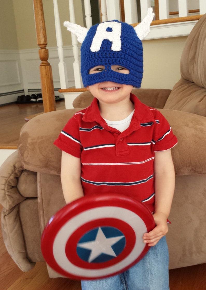 9d2218a0f Captain America Mask/Hat