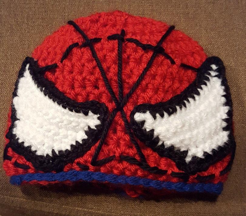Spiderman Hat Etsy